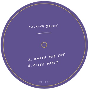 """Talking Drums/UNDER THE SKY 12"""""""