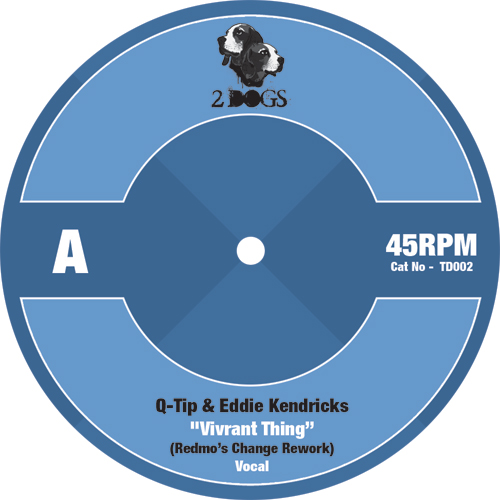 "Q-Tip vs Eddie Kendricks/VIVRANT... 7"""