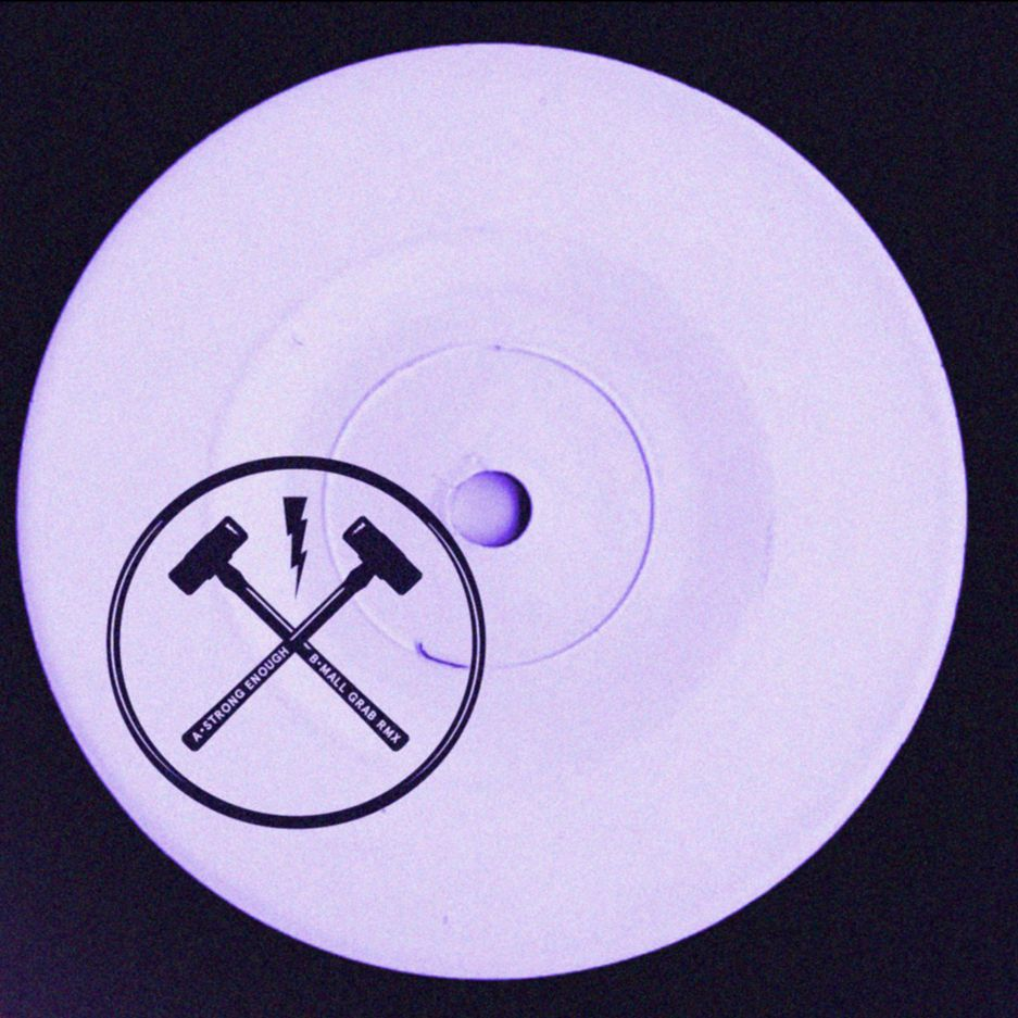Hammer/STRONG ENOUGH (MALL GRAB RMX) 12""