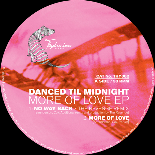 Danced Til Midnight/MORE OF LOVE EP 12""