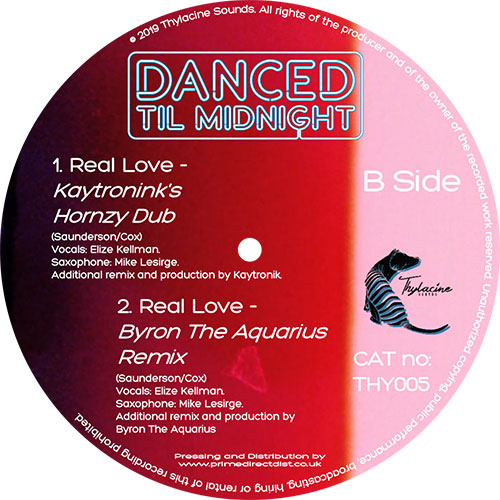 Danced Til Midnight/REAL LOVE 12""