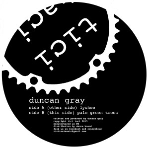 Duncan Gray/LYCHEE 12""