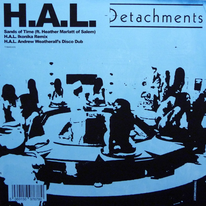 Detachments/H.A.L. REMIXES 12""