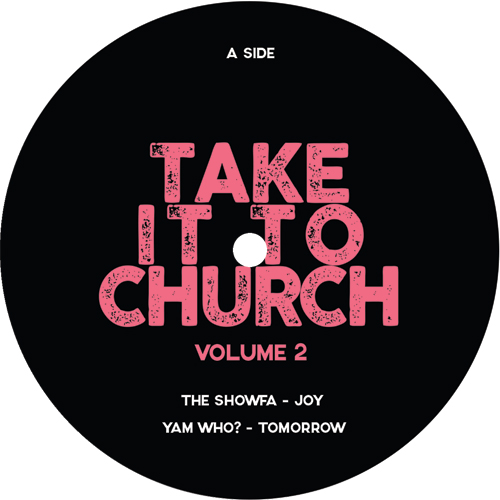 Various/TAKE IT TO CHURCH V2 SAMPLER 12""