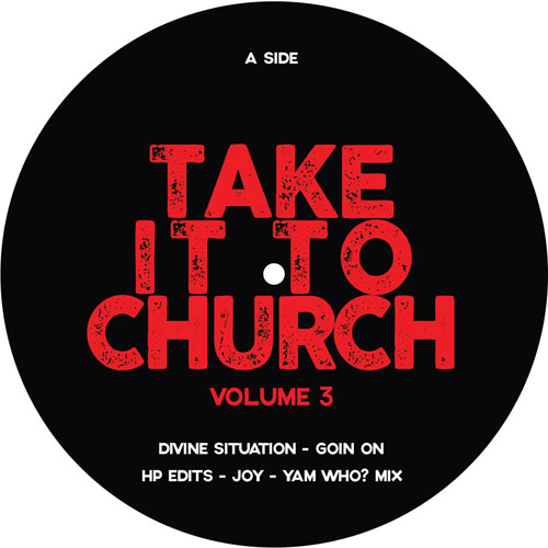 Various/TAKE IT TO CHURCH V3 SAMPLER 12""
