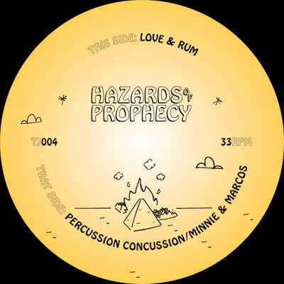 Hazards Of Prophecy/MINNIE & MARCOS 12""
