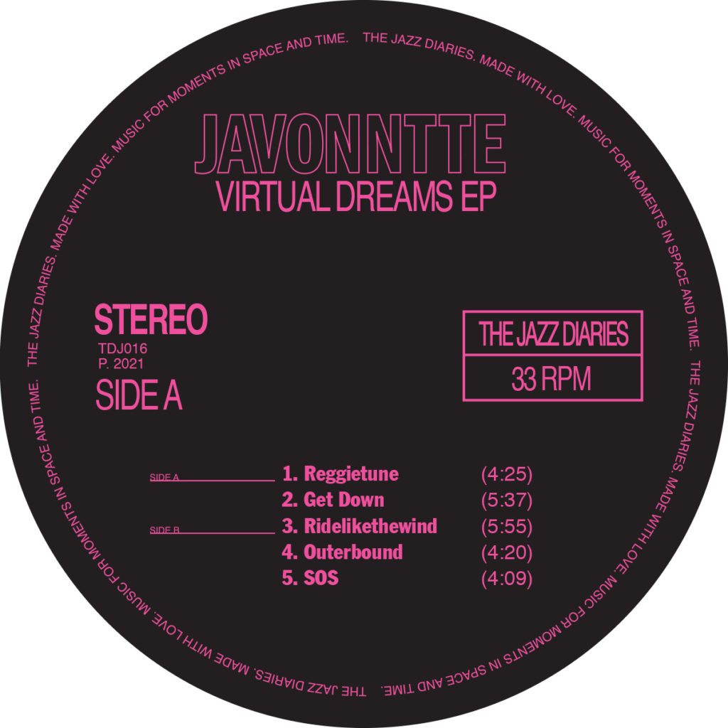 Javonntte/VIRTUAL DREAMS EP 12""