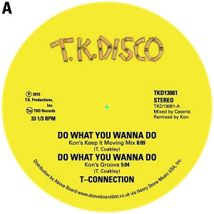 T-Connection/DO WHAT... (KON REMIX) 12""