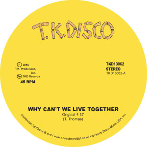 Timmy Thomas/WHY CAN'T WE - LNTG RMX 12""
