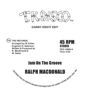 Ralph MacDonald/JAM ON.. (D. KRIVIT) 12""