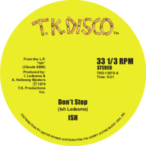 Ish/DON'T STOP 12""