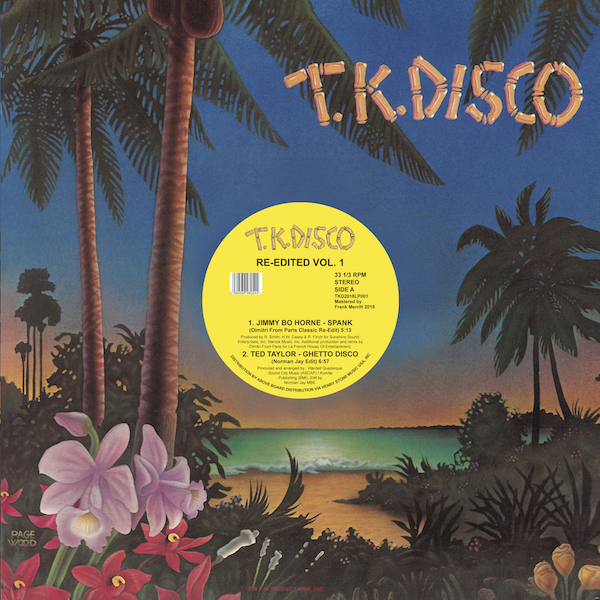 Various/TK DISCO RE-EDITED (YELLOW) DLP