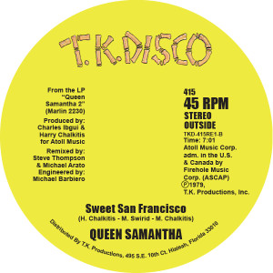 Queen Samantha/TAKE A CHANCE 12""