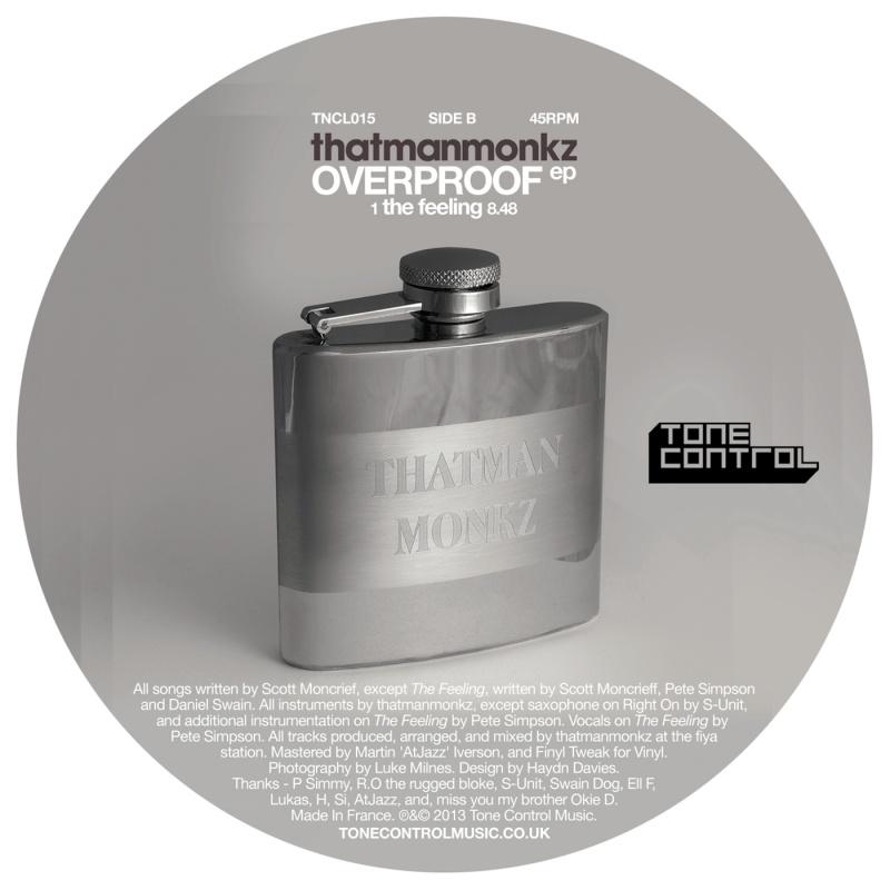 """Thatmanmonkz/OVERPROOF EP 12"""""""