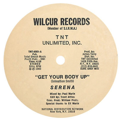 Serena/GET YOUR BODY UP 12""