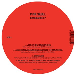 Pink Skull/BRAINDANCE EP 12""