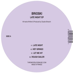 Brioski/LATE NIGHT 12""