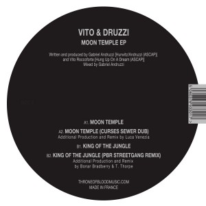 Vito & Druzzi/MOON TEMPLE & REMIXES 12""