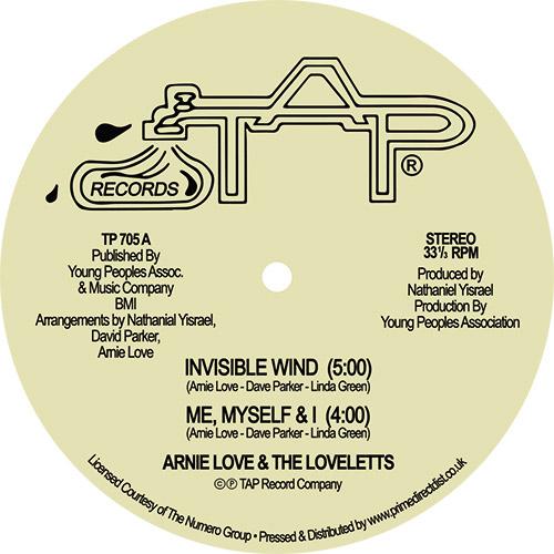 "Arnie Love/INVISIBLE WIND 12"""
