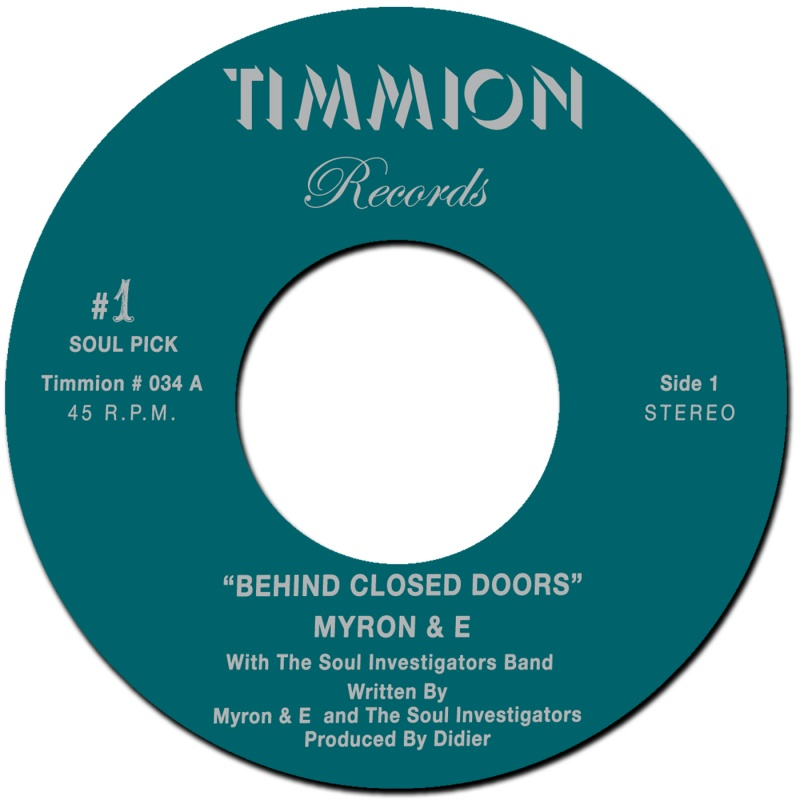 Myron & E/BEHIND CLOSED DOORS 7""