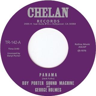 "Roy Porter & George Holmes/PANAMA 7"""
