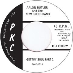 """Aalon Butler/GETTIN' SOUL 7"""""""