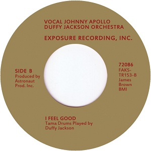 Duffy Jackson Orchestra/I FEEL GOOD 7""