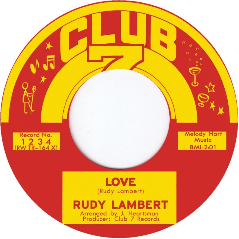 """Rudy Lambert/LOVE  7"""""""