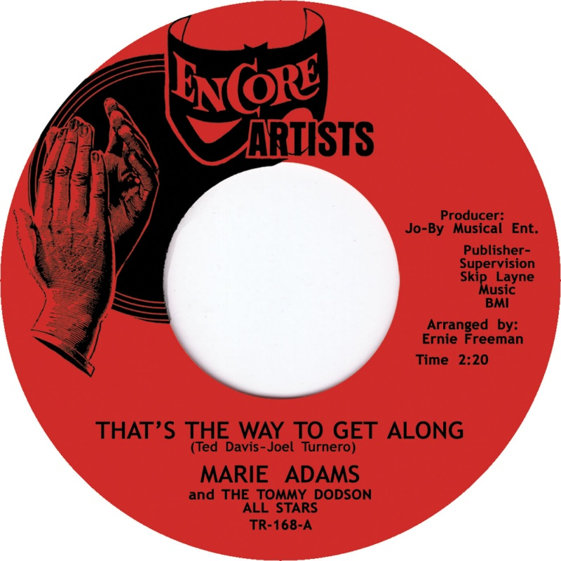 Marie Adams/THAT'S THE WAY TO GET 7""