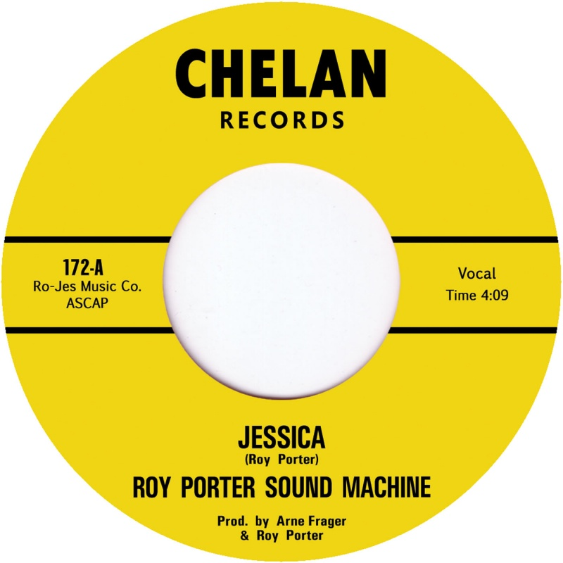 "Roy Porter Sound Machine/JESSICA  7"""