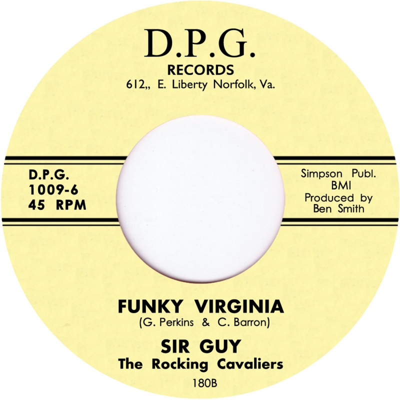 Sir Guy/FUNKY VIRGINIA 7""