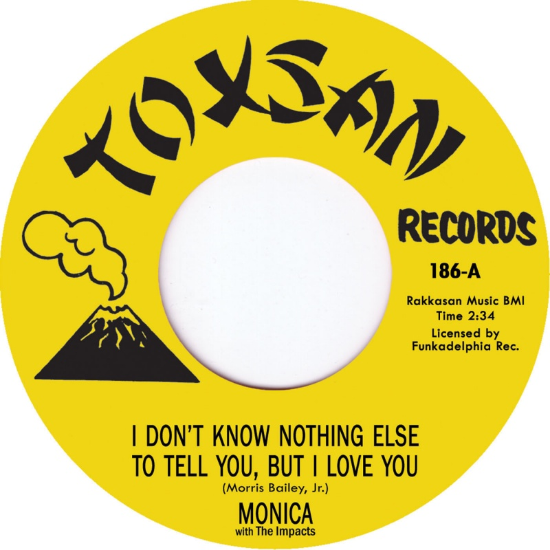 Monica/FREEDOM & I DON'T KNOW NOTHING 7""