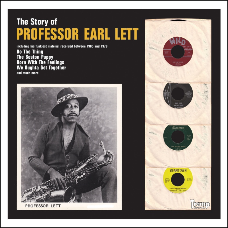 Professor Earl Lett/STORY OF  CD