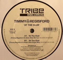 Timmy Regisford/AT THE CLUB(REMIXES) 12""