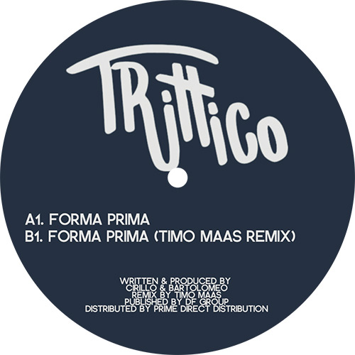 "Trittico/FORMA PRIMA (TIMO MAAS RMX) 12"""