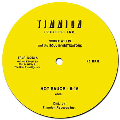 Nicole Willis/HOT SAUCE 12""