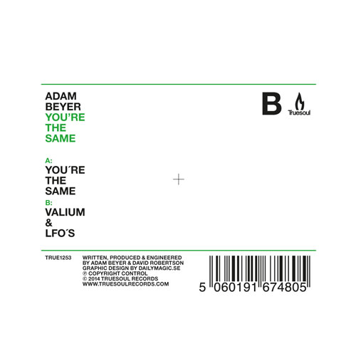 Adam Beyer/YOU'RE THE SAME 12""