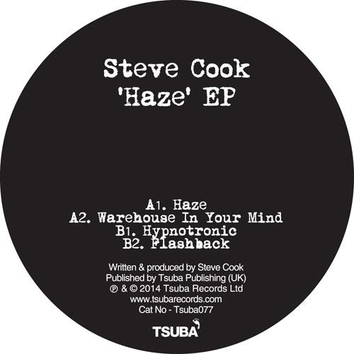 "Steve Cook/HAZE EP 12"""