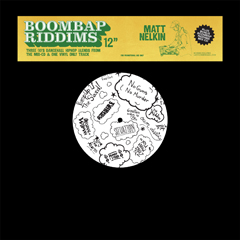 "Matt Nelkin/BOOM BAP RIDDIMS 12""+MIX CD"