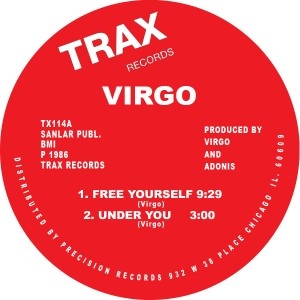 Virgo/FREE YOURSELF 12""