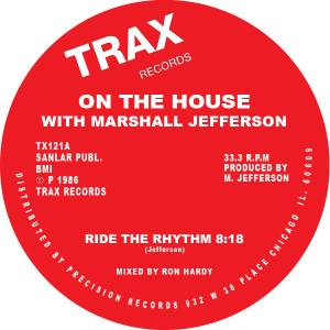 "Marshall Jefferson/RIDE THE RHYTHM 12"""