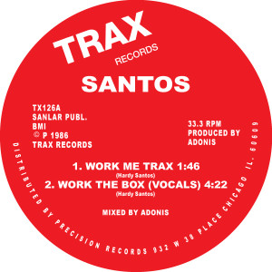 Santos/WORK THE BOX 12""