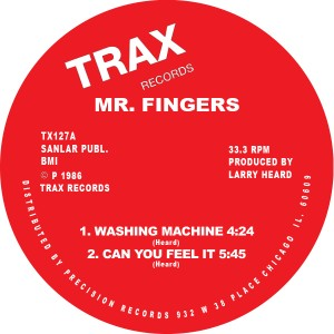 Mr. Fingers/WASHING MACHINE  12""
