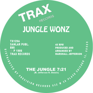 Jungle Wonz/THE JUNGLE 12""