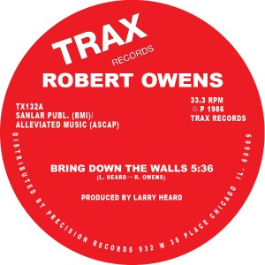 Robert Owens/BRING DOWN THE WALLS 12""
