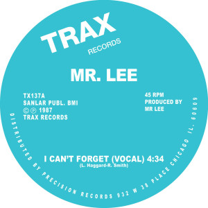Mr. Lee/I CAN'T FORGET 12""