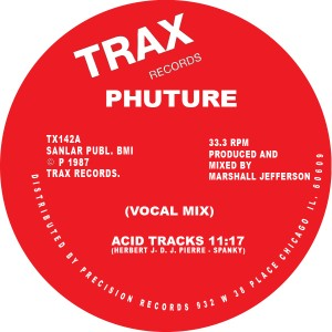 Phuture/ACID TRACKS 12""