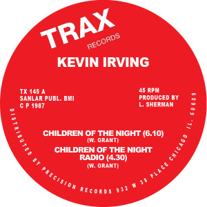 Kevin Irving/CHILDREN OF THE NIGHT 12""
