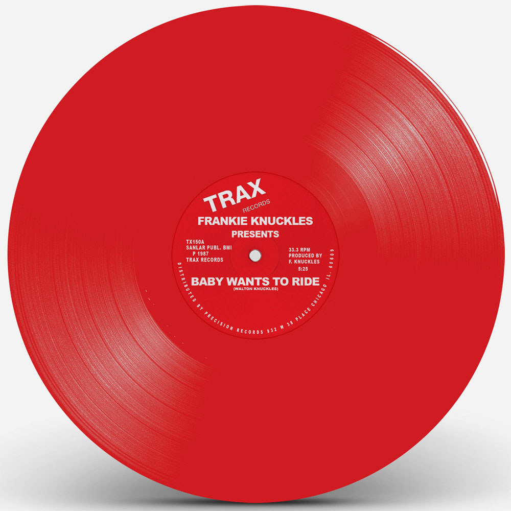 Frankie Knuckles/BABY.. RED VINYL 12""