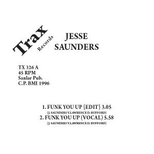 "Jesse Saunders/FUNK U UP 12"""